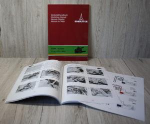 Deutz Werkstatthandbuch Hydraulik Baureihe 06 und Intrac 2002 2003