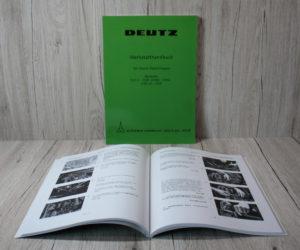 Deutz D25 D30 D40 D50 Werkstatthandbuch