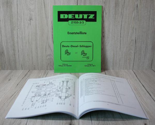 k DS Bild Deutz ETL Art. DE240 D 25 D25S Z1155 3 3