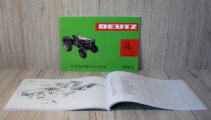 Deutz Ersatzteilliste D40S Typ D40.1S (Z1135-3)
