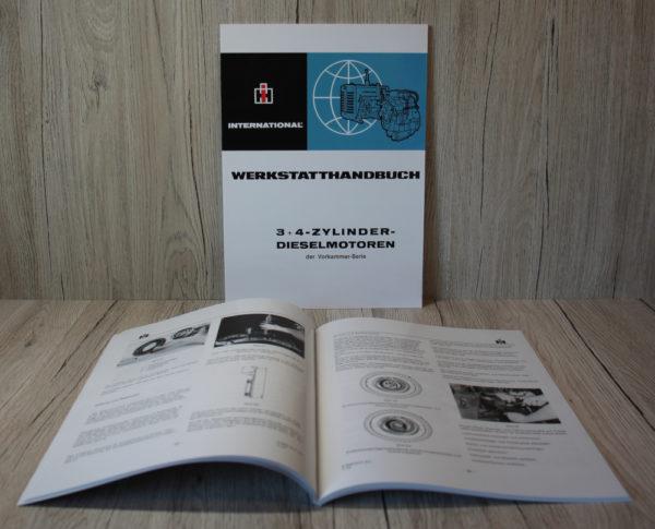 Mc Cormick Werkstatthandbuch 3+4 Zylinder Dieselmotor