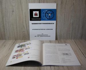IHC Werkstatthandbuch Hydrostatische Lenkung ZF Lenksteuergerät