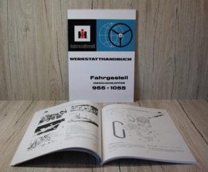 IHC 955+1055 Werkstatthandbuch Fahrgestell