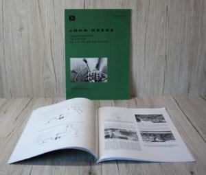 John Deere Anbauanleitung Zusatzsteuergeräte Traktor 1020 1120 2020 2030 2120 2130 3130
