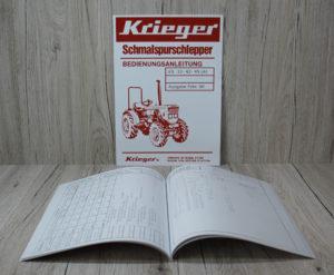 Krieger Bedienungsanleitung Traktor KS 33–42–45 (A) Allrad