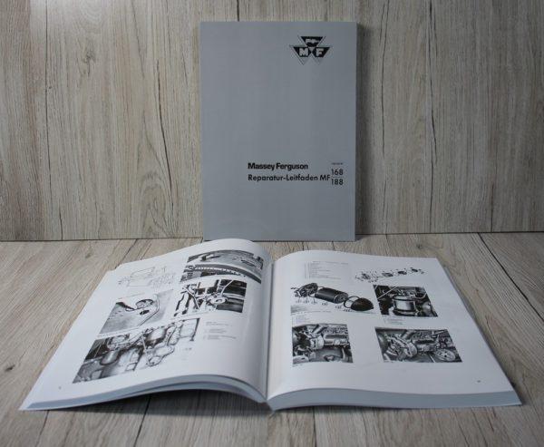 Massey Ferguson MF168 MF188 Werkstatthandbuch Traktor