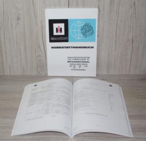 IHC Werkstatthandbuch Kraftstoffsystem Turbolader