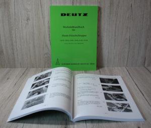 Deutz D2505 D3005 D4005 D4505 D5005 D5505 Werkstatthandbuch