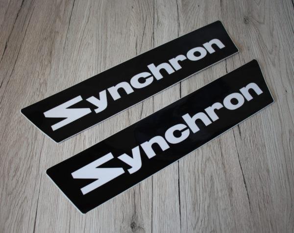 k DS Bild Aufkleber Synchron 345 x 75 cm Set