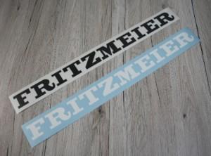 Fritzmeier 1x Aufkleber für Verdeck Kabine schwarz oder weiss