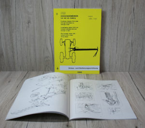 Deutz 05 Baureihe Anbau-und Bedienungsanleitung