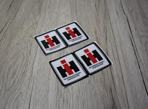 IHC Aufkleber Logo 4er Set