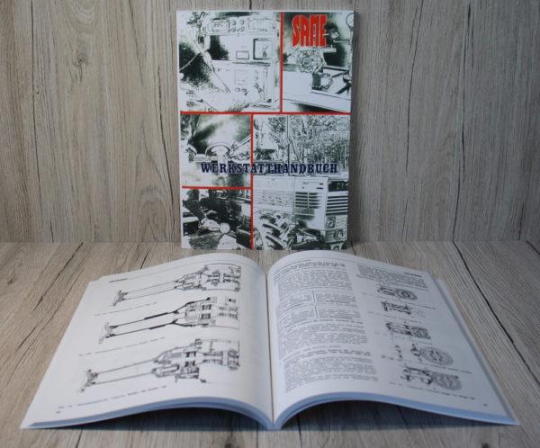 SAME Traktor Werkstatthandbuch