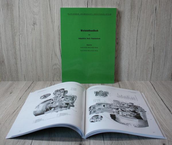 Deutz Werkstatthandbuch Motor F1-6L612 und F1-6L712