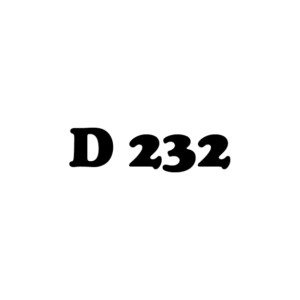 D 232