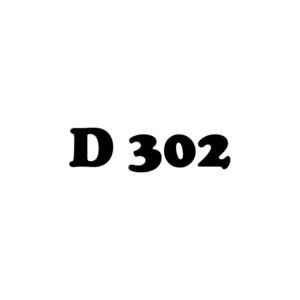 D 302