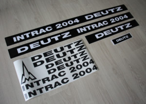Deutz Intrac 2004 Aufkleber