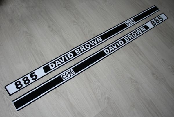 k DS Bild Aufkleber David Brown case 885 Art. DBA80