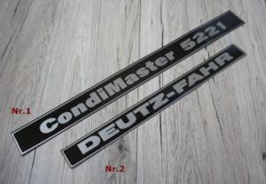 Deutz Fahr Condimaster 5221 Aufkleber Kreiselheuer