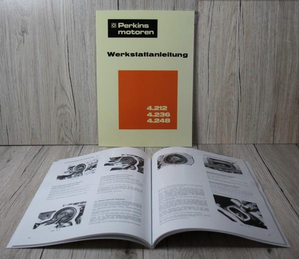 Perkins 4.212+4.236+4.248 Werkstatthandbuch Motor
