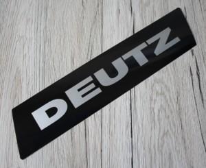Deutz Aufkleber silber Kotflügel Baureihe 06