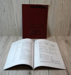 Hanomag Werkstatthandbuch Granit 500E-Brillant 600-700 und Robust