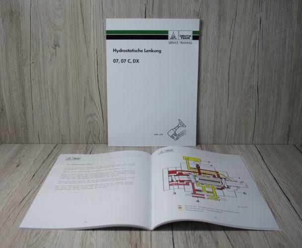 Deutz 07-07 C - DX Werkstatthandbuch