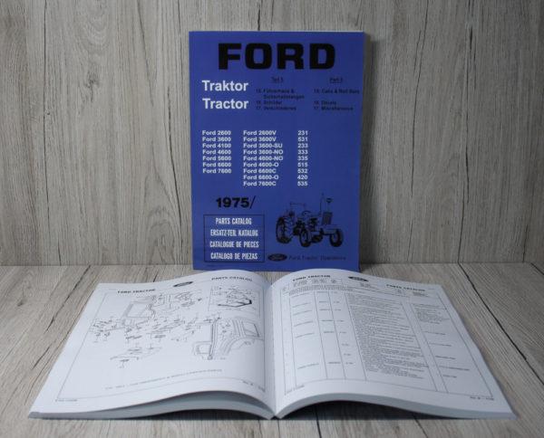 k DS Bild Ford ETL 1975 Teil 5 2600 3600 4100 4600 5600..