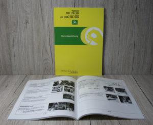 John Deere Betriebsanleitung 1550 1750 1850 1850N 1950 1950N