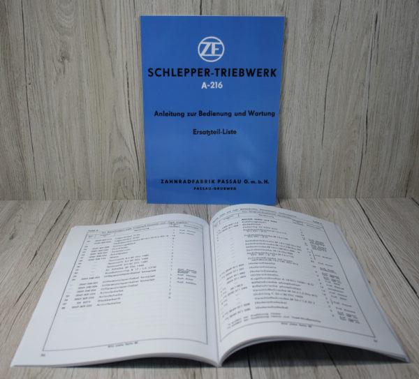 k DS Bild ZF BA ETL Schlepper Triebwerk A 216