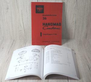 Hanomag Combitrac C218 Ersatzteilliste
