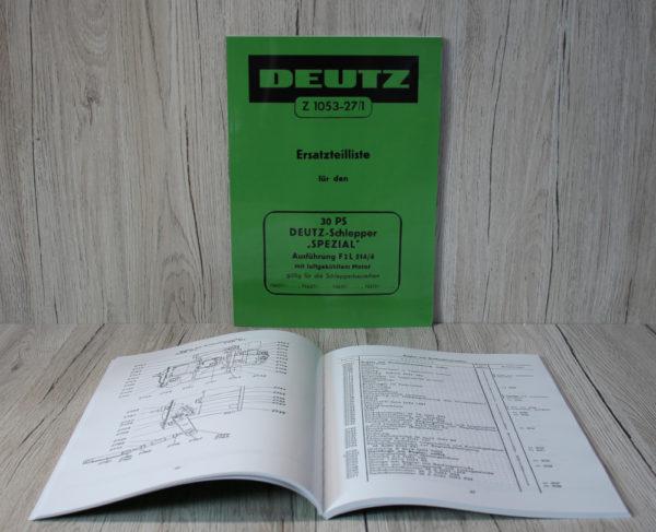 k DS Bild Deutz ETL Spezial F2L514 4 Z1053 27 1