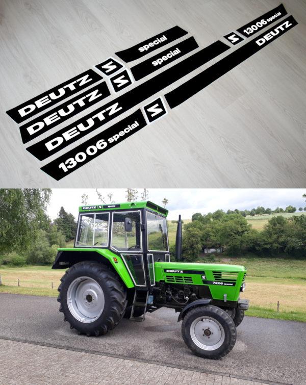 Deutz D13006 Special Kabine Aufkleber