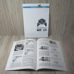 Massey Ferguson MF 25 Informationsbuch