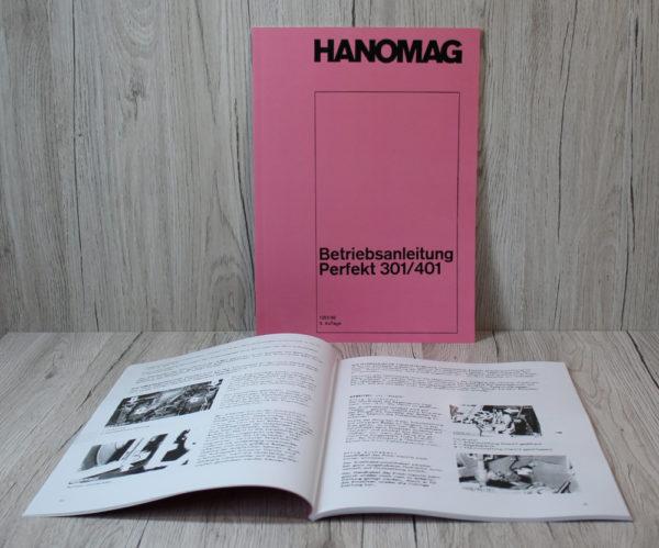 Hanomag Betriebsanleitung Traktor Perfekt 301 / 401