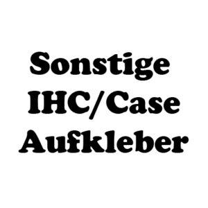 Sonstige IHC/Case Aufkleber