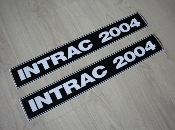 Deutz Aufkleber Intrac 2004 52cm
