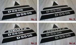Deutz Aufkleber D5506 lang