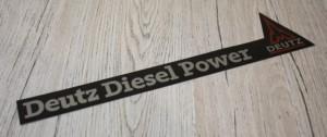 Deutz Diesel Power Aufkleber