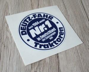 Deutz Fahr Nr1 1984 Aufkleber