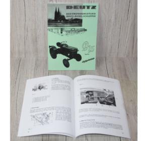 Deutz Bedienungsanleitung Traktor D15 Typ15.1 (H1110-2/2)
