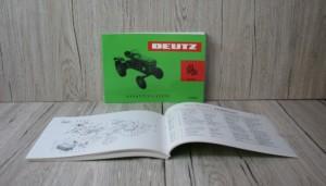 Deutz Ersatzteilliste Traktor D15 Motor F1L812 (Z1110-3)