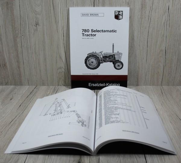 k DS David Brown 780 Selectamatic Tractor