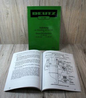 Deutz F1 M 414 F2 M 414 F2 M 417 Anleitung
