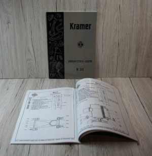 Kramer K33 Motor F2L514 Ersatzteilliste