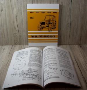 Zetor 4911 5911 5945 6911 6945 Werkstatthandbuch Traktor