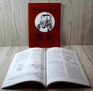 Zetor 5011 6011 6045 7011 7045 Werkstatthandbuch Traktor