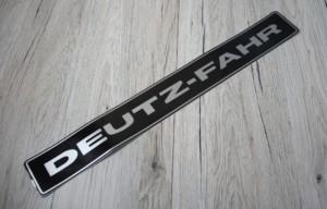 Deutz Fahr Aufkleber silber Kotflügel 06/07 Baureihe