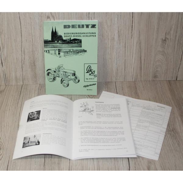 Deutz Bedienungsanleitung D50.1S/D5505 (H1151-2)