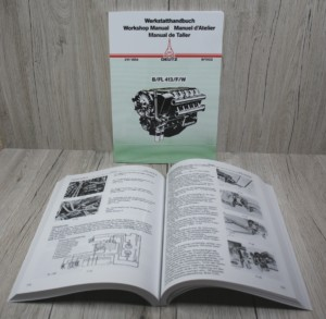 Deutz FL413 BFL413 FL413W FL413L BFL413L Werkstatthandbuch